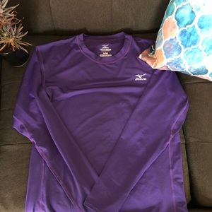 Mizuno DryLite Long-Sleeved Baseball Shirt